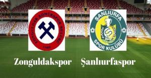 Zonguldak Kömürspor Şanlıurfaspor