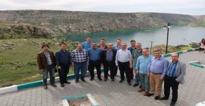 Hukukçular Urfa'nın Turistlik Mekanlarına Hayran Kaldı