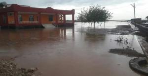 Eyyübiye'de Sağanak Yağış Etkili Odu