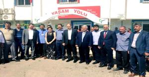 AK Vekil Gülpınar, STK ve Gençleri ziyaretini sürdürüyor