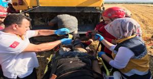 Urfa'da Talihsiz Kaza, 1 Yaralı