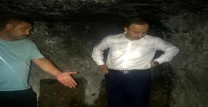 Vali Erin, mağaralar bölgesine gitti
