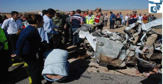 Urfa Yolunda Korkunç Kaza; 7 ölü