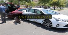Urfa'da iki otomobil çarpıştı, 8 yaralı