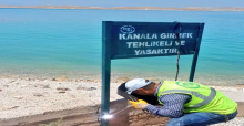 Urfa'da DSİ, sulama kanallarını tel örgü ile kaplıyor