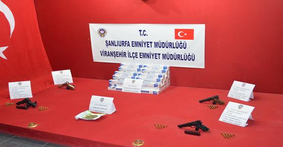 Viranşehir Emniyeti Kaçakçılara Göz Açtırmıyor