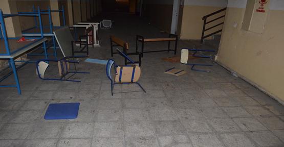 Viranşehir'de Okuldan hırsızlık